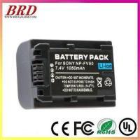 Digital camera battery NP-FV50 FV50 FH50 FH70 DCR-SR60E For Sony
