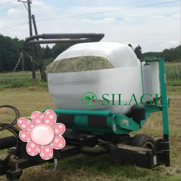 White Silage Wrapping Stretch Film Agricultural Use for