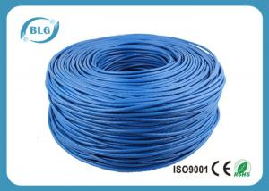 China Networking Cat 6 Network Cable 1000 FT 4 Pairs Unshield BC / CCA Customized Color on sale