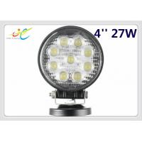 2017 Hot sale 9~30V DC 27W 4inch Flood Spot round LED Work Light Offroad Driving light for DRL SUV Truck 4WD