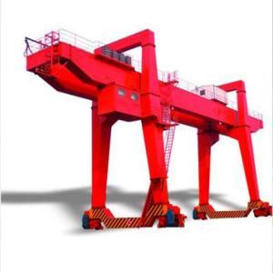 China Rail Mobile Double Girder Gantry Crane /  Electric 80ton 50 Ton Gantry Crane on sale