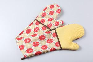 China silicone double oven mitts on sale