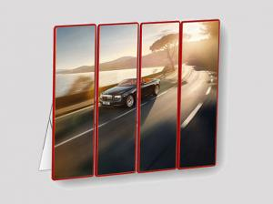 China Poster Indoor Full Color Led Display Hd 2.5mm Ultra Thin For Hotel Lobby on sale