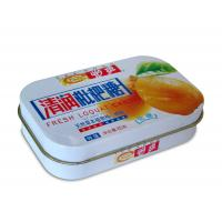 Seamless Rectangulare Metal Tin box for Candy and Mint and Gift cards packaging