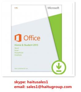 China Home / Student  Office Product Key Codes Office 2013 OEM Key Code Online on sale