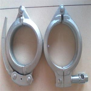 China Heavy Coupling Concrete Pump Truck Pipe Snap Clamp ISO9001 Certification on sale