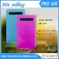 4000mAh Power Bank Exteranl Polymer Battery Mobile Charger