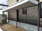 Powder Coating Aluminum Partition Stair  For Railing/Balustrade/Balcony