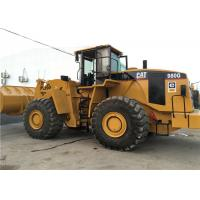 China Caterpillar 980G Second Hand Wheel Loaders Front 5.5cbm Bucket Capacity on sale