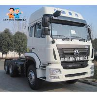 China Eco Low Emission HOHAN RHD 420hp Tractor Head Trucks on sale