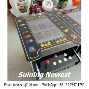 China European Like PAC MAN Cocktail Table Mini Coin Operated Video Arcade Cabinet Game Machine on sale