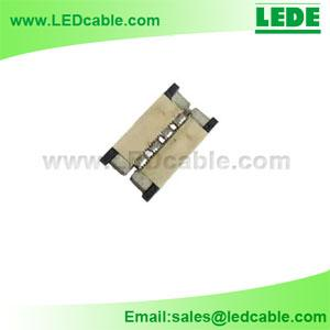 China Solderless LED Strip Connector For SMD3528, SMD5050 on sale
