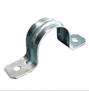 China Galvanized Steel IMC Conduit And Fittings 1 / 2 to 4 IMC Two Hole Strap Available on sale