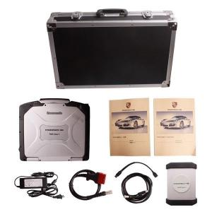 China Car Diagnostics Scanner Porsche Piwis Tester II With CF30 Laptop on sale