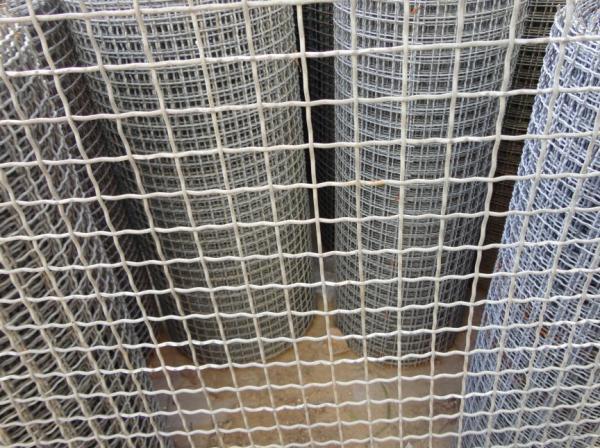 Barbecue Screen Crimped Wire Mesh Square wire fencing materials ...