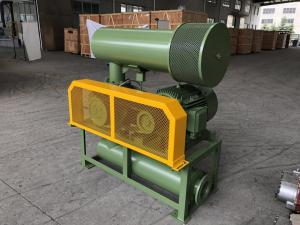 China Cast Iron Bk6005 4kw 3 Lobe Roots Blower With Army Green Color , Long Life on sale