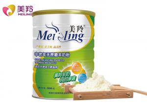 China 800g Sugar Free High Calcium Goat Milk Powder For Old Ages on sale