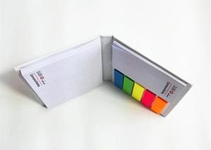China Portable Custom Sticky Notes 80 Gsm Woodfree Paper Material OEM / ODM Service on sale