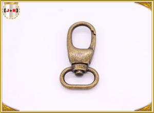 China Brass Rolling Swivel Snap Metal Hooks And Fasteners With Laser Engraved Logo on sale