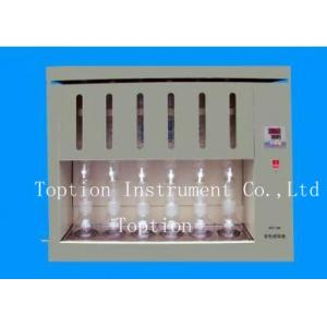 China High quality soxhlet fat analyzer grain analyzer grease tester/analyzer/extractor SXT-06 6 samples price on sale