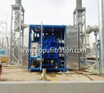 ZYD Double stage vacuum transformer oil,onsite working oil purifier with double vacuum chamber booster, with full covers