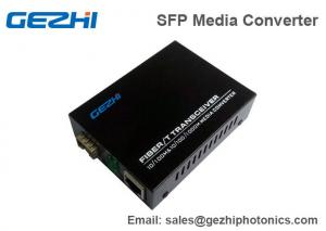 China Gigabit SFP Media Converter 10/100/1000Base-TX / FX Gateray GR-1000-AS-SFP on sale