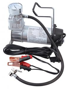 China 12V Single 200 Psi Vehicle Air Compressor Off Switch Chrome , Portable Air Compressor For Car on sale