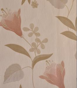 China Italy Style Heavy Embossed Wallpaper 70cm with Water-base Ink on sale