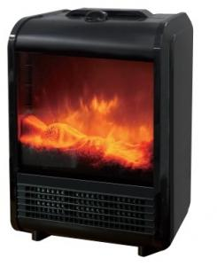 China Indoor Small Free Standing Electric Fireplace TNP-2008I-E3 Temperature Adjustable on sale