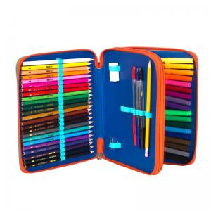 China Polyester Colorful Fashion Pencil Case on sale