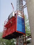Personalice las elevaciones materiales del elevador del alzamiento del equipo de elevación de la construcción