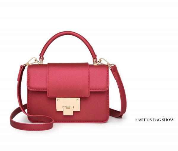 f8a8de85b5d23 PU Leather Desinger Bag Women's Shoulder Bag Daily Lock Bag for sale ...