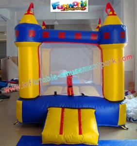 China Mini Castle, Commercial grade PVC tarpaulin Inflatable Bounce Houses, Childrens playhouses on sale