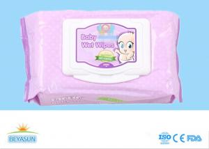China Plain Nonwoven Baby Wet Wipes Skin Care , Natural Organic Baby Wipes No Chemicals on sale