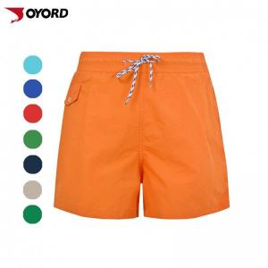 China Unique Custom Beach Shorts Environmental Ink Standard Stitching Easy Cleaning on sale