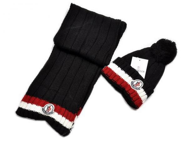 wholesale luxury ladies hats and scarf 2015 moncler women s winter hat and  scarf Images 2c9bd5ffc75