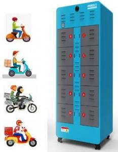 China New Energy Electric Motorcycle Use 10 Slot Intelligent Battery Exchange Station on sale