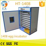 China 1500 eggs wholesale price automatic egg incubator turnin for sale (CE Approved) HT-1408 hot in Italy wholesale