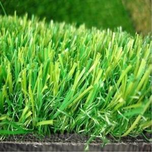 China 20MM Height  PP+PE GAUGE 3/8 18 STITCHES Density 13650 3 colors anti-UV High Cost-effective Landscape decoration grass on sale