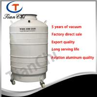 210 mm Caliber LN2 tanks 100L container used for cryogenic process