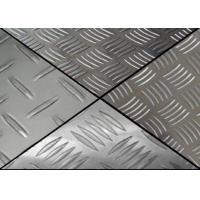 China Military Grade Aluminium Chequered Plate 3003 5 Bars Aluminum Tread Plate 4x8 on sale