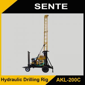 China New type AKL-200C hydraulic drilling rig on sale