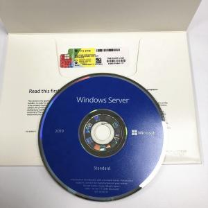China English Microsoft Windows Server 2019 Standard 64 Bit DVD Genuine Activate on sale