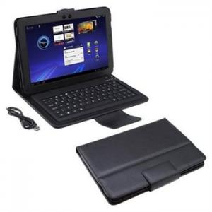 China 2012 Latest Magnetic slim leather case for Tablet PC --rotatiing leather case for 10.6 inch Samsung Tablet PC on sale