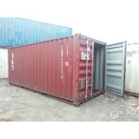 Durable Dry Used Steel Storage Containers For  Logistics And Transport
