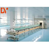 Flexible Lean Automated Production Line Customizable Size With Double Face Conveyor Belt