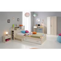 Small Rooms Childrens Bedroom Furniture Sets With Storage Kids Bed Environment Friendly