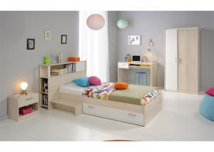 China Small Rooms Childrens Bedroom Furniture Sets With Storage Kids Bed Environment Friendly on sale