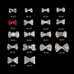 Nail Art Decoration Bow Knot Alloy Jewelry Glitter Rhinestone ML153-170