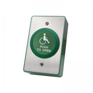 China Flat Mushroom Press to Exit Push Button for Door Exit Access Control wholesale